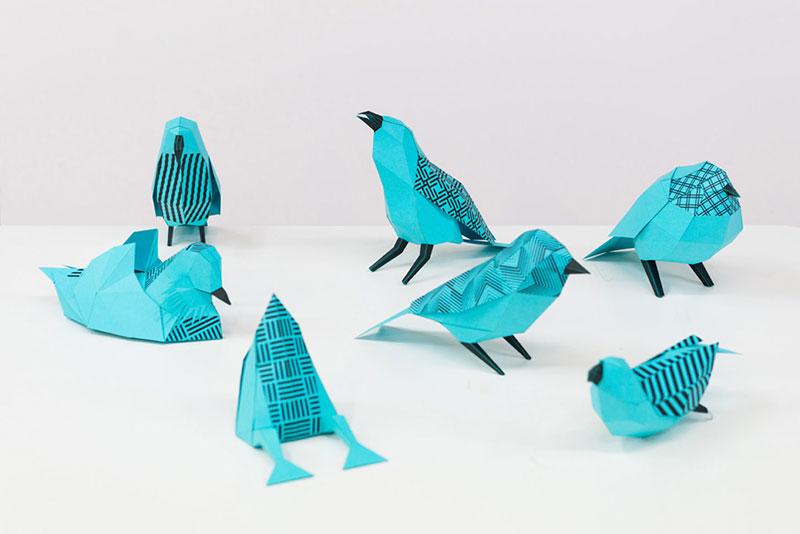 طراحی نمایشگاه پرندگان