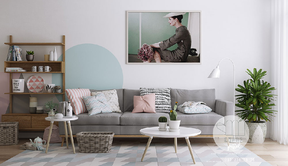 طراحی داخلی الهام بخش به سبک اسکاندیناوی