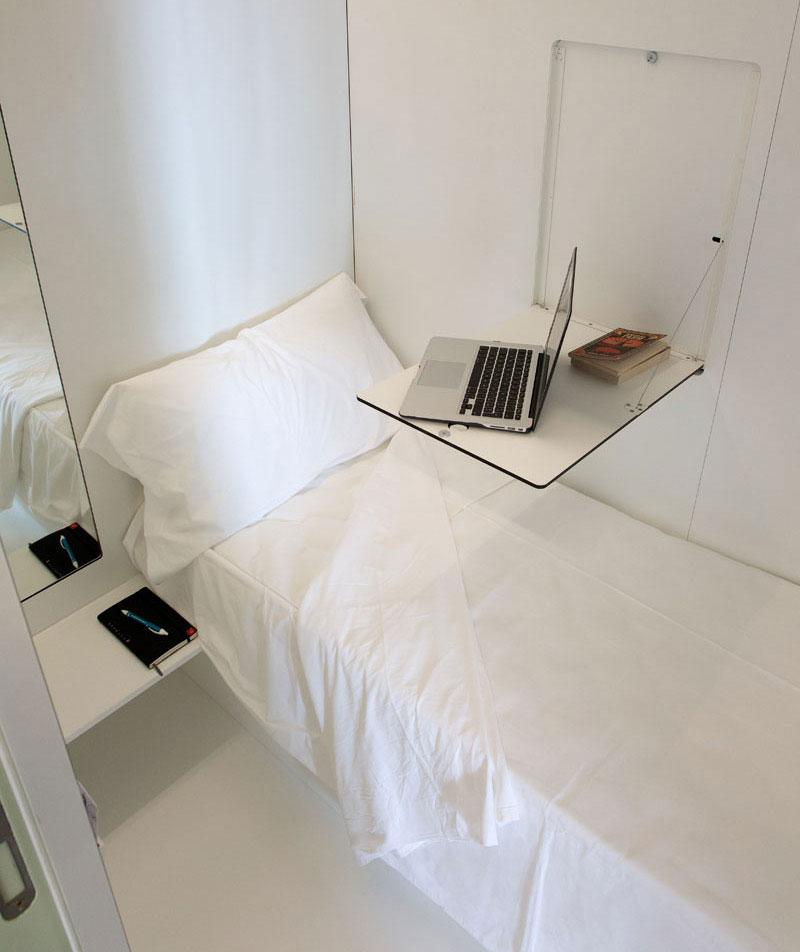 طراحی هتل کپسولی