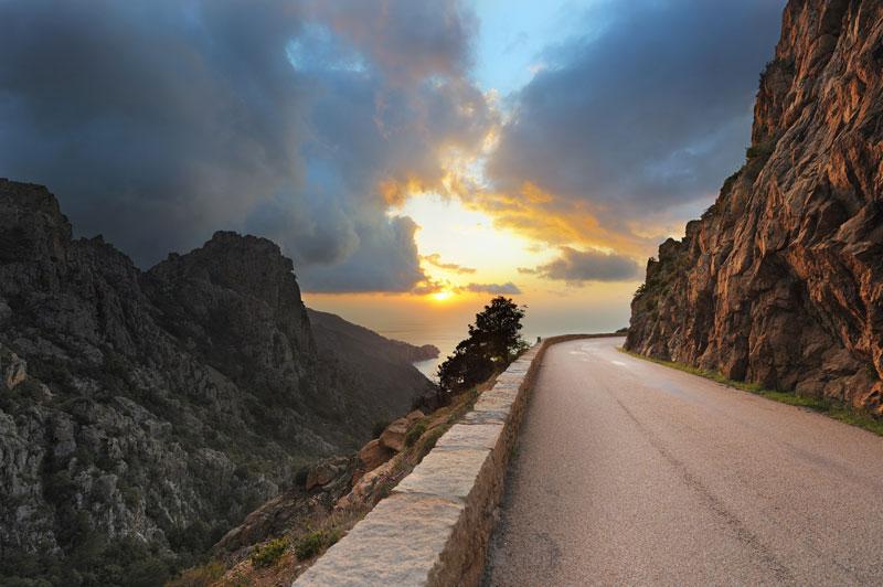 جاده های ساحلی شگفت انگیز جهان