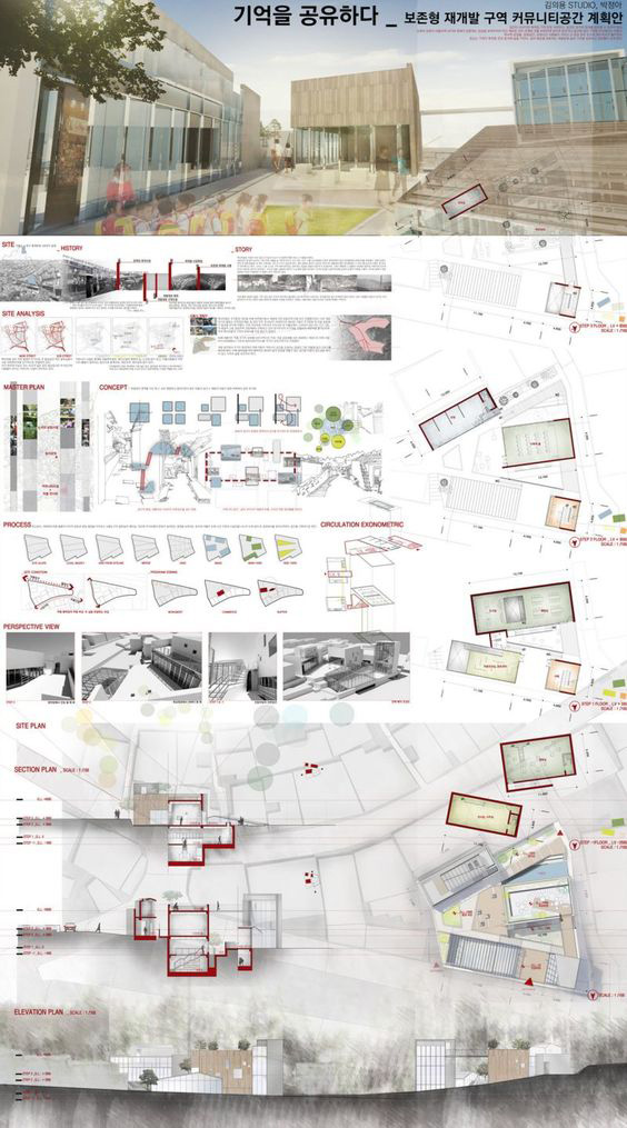 نمونه شیت بندی معماری در فتوشاپ