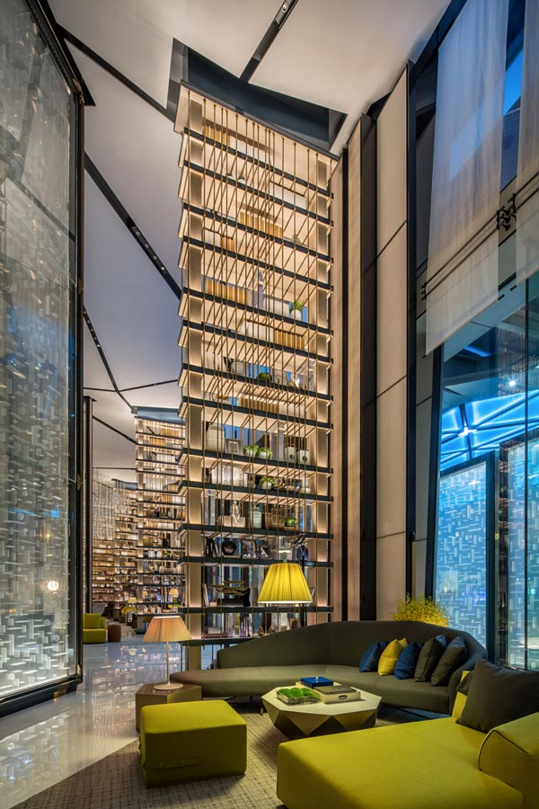معماری داخلی هتل لوکس Sanlitun در پکن