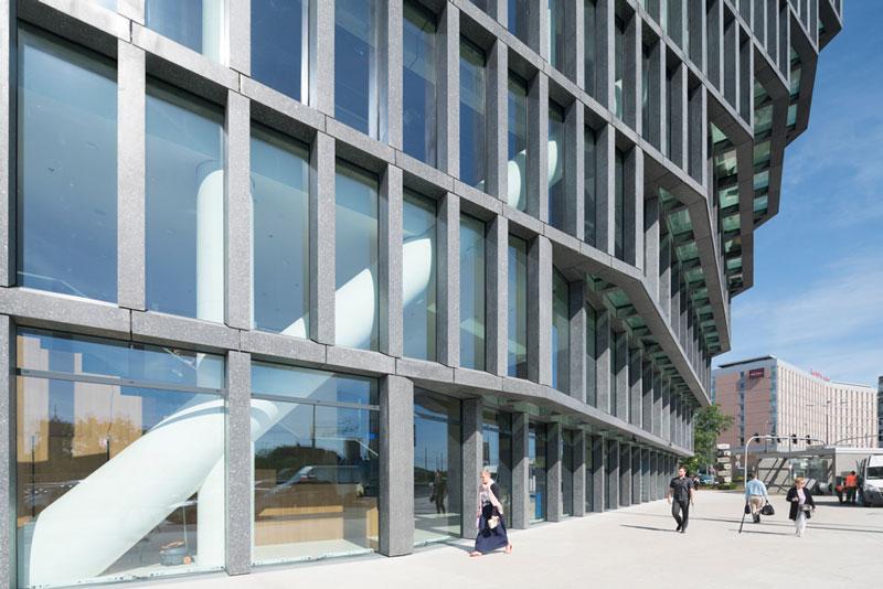 معماری ساختمان بالتیک اثر گروه mvrdv