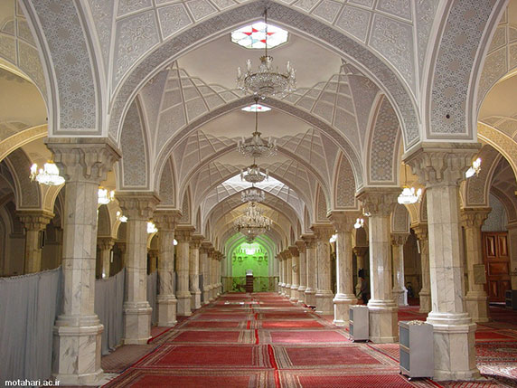 مسجد سپه سالار،مسجد سپهسالار،مدرسه عالی شهید مطهری