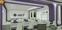 نمونه طراحی داخلی بانک ایران زمین