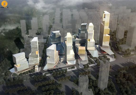 طراحی برج جینان در چین