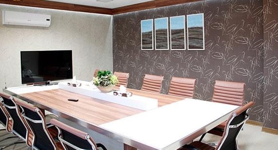 طراحی و اجرای دفتر کار گروه مهد سرمایه گذاری خاورمیانه