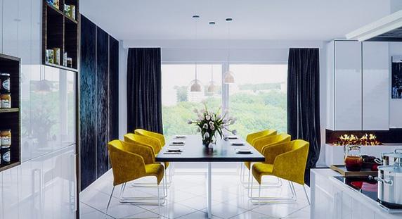 بررسی طراحی داخلی 4 آپارتمان: استفاده از رنگ زرد در طراحی و دکوراسیون داخلی