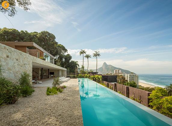 ویلای برزیلی در ریو