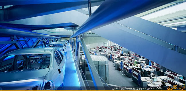 در آرل گالری : طراحی ساختمان مرکزی BMW توسط زاها حدید