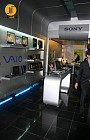سونی پایتخت ، طراحی فروشگاه سونی ، موقعیت : مرکز خرید پایتخت طبقه دوم