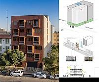طراحی ساختمان مسکونی بالکانه در فردیس کرج