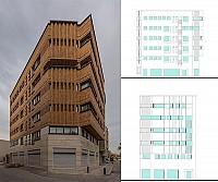 طراحی ساختمان اداری تجاری طاها در اصفهان