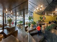 طراحی رستوران اسی برگر/گروه معماری آدمون