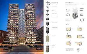 ساختمان داینامیک (متحرک) / فینالیست جایزه آرکیتایزر۲۰۲۰