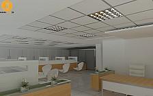 پروژه های طراحی داخلی شعب بانک شرکت آرل