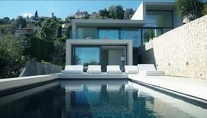 نگاهی به معماری و طراحی داخلی ویلایی در فرانسه!