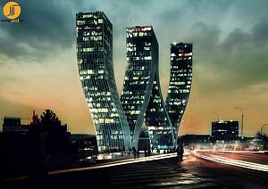 طراحی برج والتر (W)