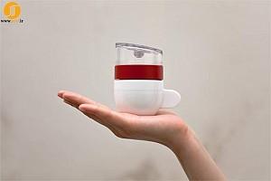 طراحی کوچک ترین قهوه ساز دنیا