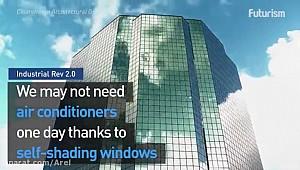 خنک سازی ساختمان با پنجره های هوشمند