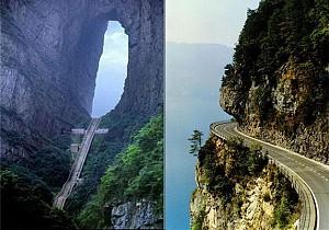 خطرناک ترین جاده ها و مسیرهای دنیا به روایت تصویر