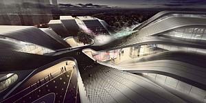 معماری و طراحی ورزشگاه مرکزی Beijiao