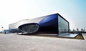 معماری مرکز خرید Qianhai  در شهر Shenzhen