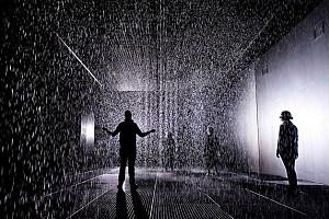 معماری مفهومی - یک اتاق برای قدم زدن در باران و خیس نشدن