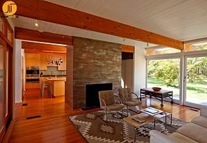 دکوراسیون داخلی و خارجی خانه ای در Cape Cod