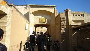 مصاحبه تصویری امیر انوشفر،راجع به بازسازی خانه عامریها