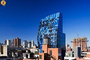 برج مسکونی آبی نیویورک (Blue Tower)، برنارد چومی