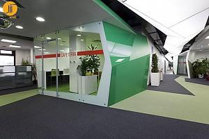 طراحی داخلی دفتر شرکت کاسترول