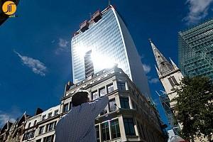 شروع ترمیم برج ذوب کننده و دردسرساز لندن