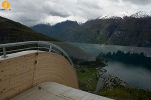 چشم انداز اورلند در نروژ
