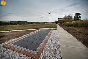 اولین پیاده روی خورشیدی در جهان