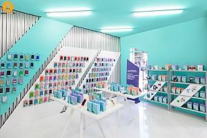 طراحی فروشگاه + لوگوی شرکت Doctor manazana