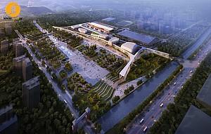 معماری پردیس فرهنگی Anqiu،کاری از گروه LITTLE