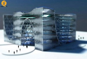 کتابخانه ی ملی قزاقستان، طرح پیشنهادی گروه معماری LAVA