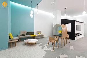 طراحی داخلی سالن زیبایی Le Coiffeur