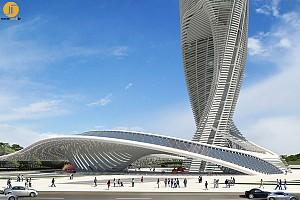 معماری آسمانخراش مارپیچی،بنای یاد بود جدید شهر