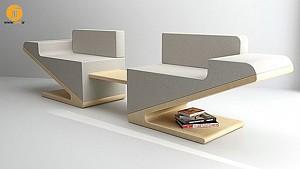 طراحی مبل V-Two ، خلاقیتی برای فضاهای کوچک