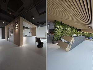 طراحی داخلی showroom اشتراکی، کارا و مقرون به صرفه