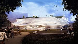 طرح پیشنهادی مرکز فرهنگی شهر تایچونگ