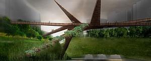 طراحی پل عابر میرافلورس-بارانکو در  لیما