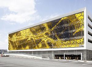 طراحی نمای هنری پارکینگی در ایالات متحده