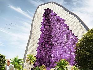 طرح هتل یاقوت توسط معماران هلندی NL