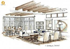 عناصر و اصول در طراحی داخلی