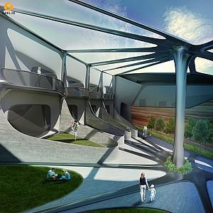 معماری و طراحی داخلی مسکونی در Marfa