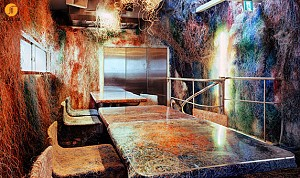 طراحی داخلی رستوران در ژاپن با سبکی متفاوت
