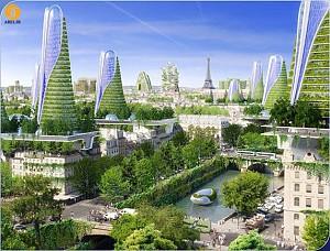 معماری پاریس در آینده، شهری هوشمند